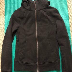 Lululemon scuba black hoodie
